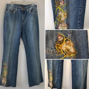 a.n.a. • Embroidered Jeans